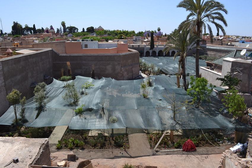 Le jardin secret marrakech iv tom stuart smith for Le jardin secret marrakech
