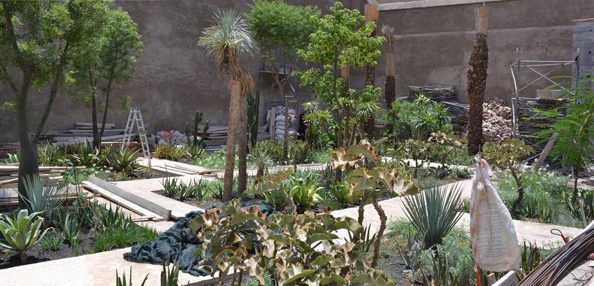 Le jardin secret marrakech v tom stuart smith for Le jardin secret marrakech