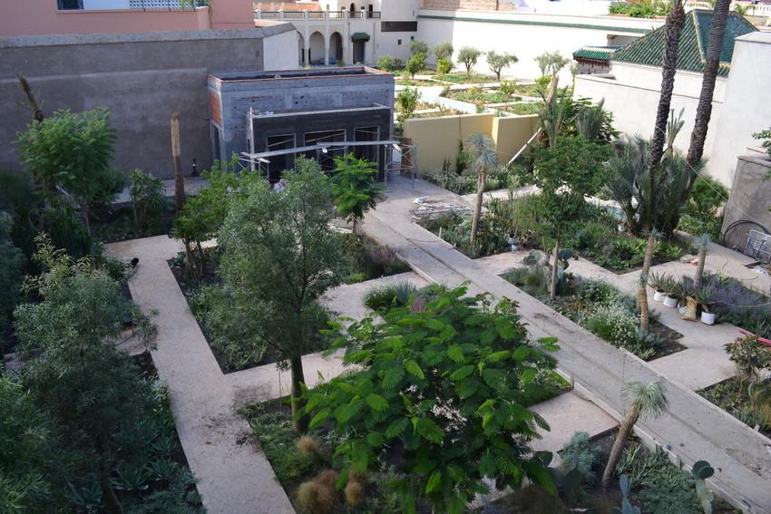 Le jardin secret marrakech vi tom stuart smith for Le jardin secret chicha