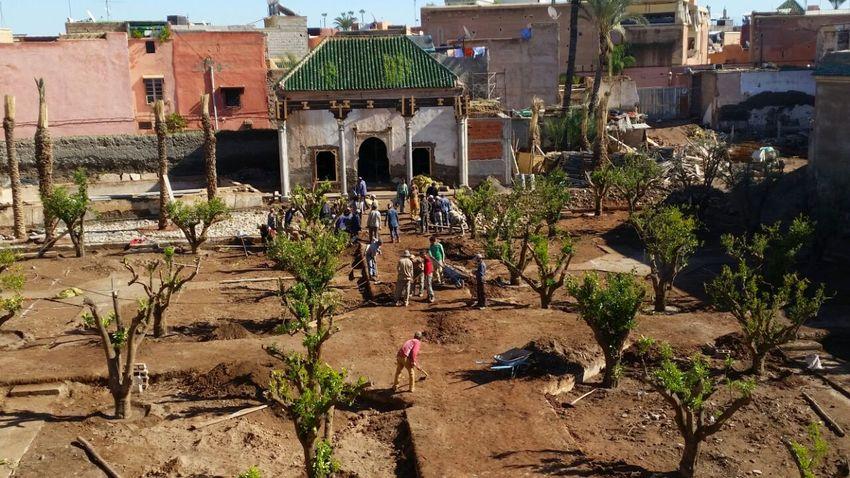 Le jardin secret marrakech iii tom stuart smith for Le jardin secret marrakech
